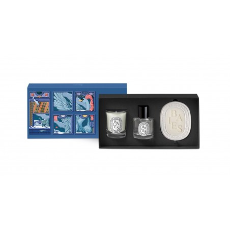 SET BAIES VELA, ROOM SPRAY Y OVALO DIPTYQUE