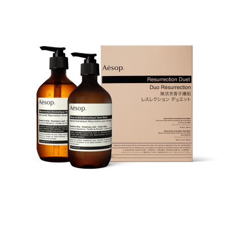 AESOP RESURRECTION HAND DUET PACK 2 X 500ML